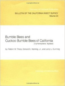 California Insect Survey Bulletins